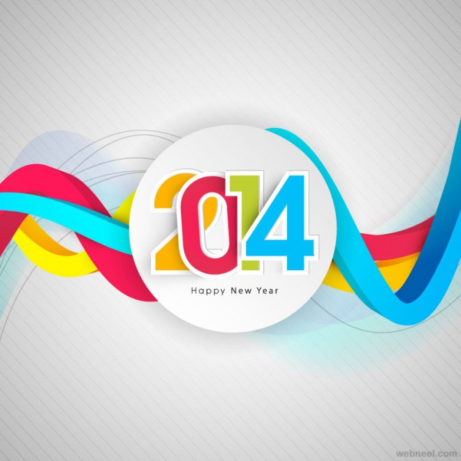 2014 new year greeting