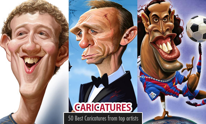 character vs caricature
