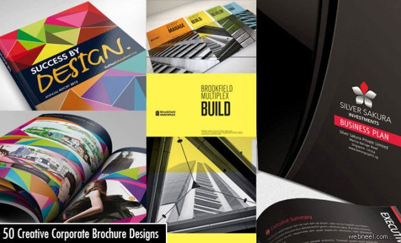50 Creative Corporate Brochure Design ideas for your Inspiration Corporate Brochure Design