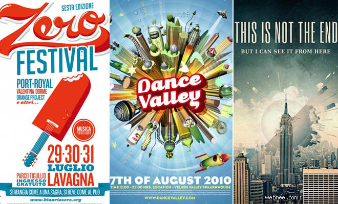 30 creative poster designs and flyer