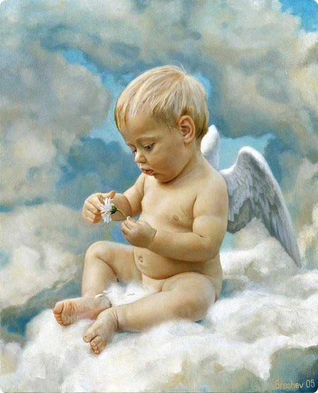 Beautiful Black Baby Angels Heaven