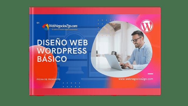 Diseño web WordPress Plan Basico