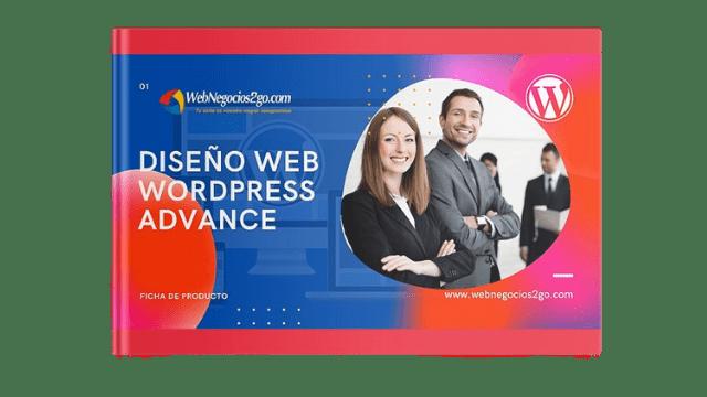 Diseño web WordPress Plan Avanzado