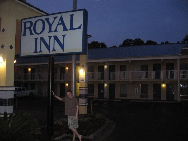 At the Royal Inn we stayed at the last night
