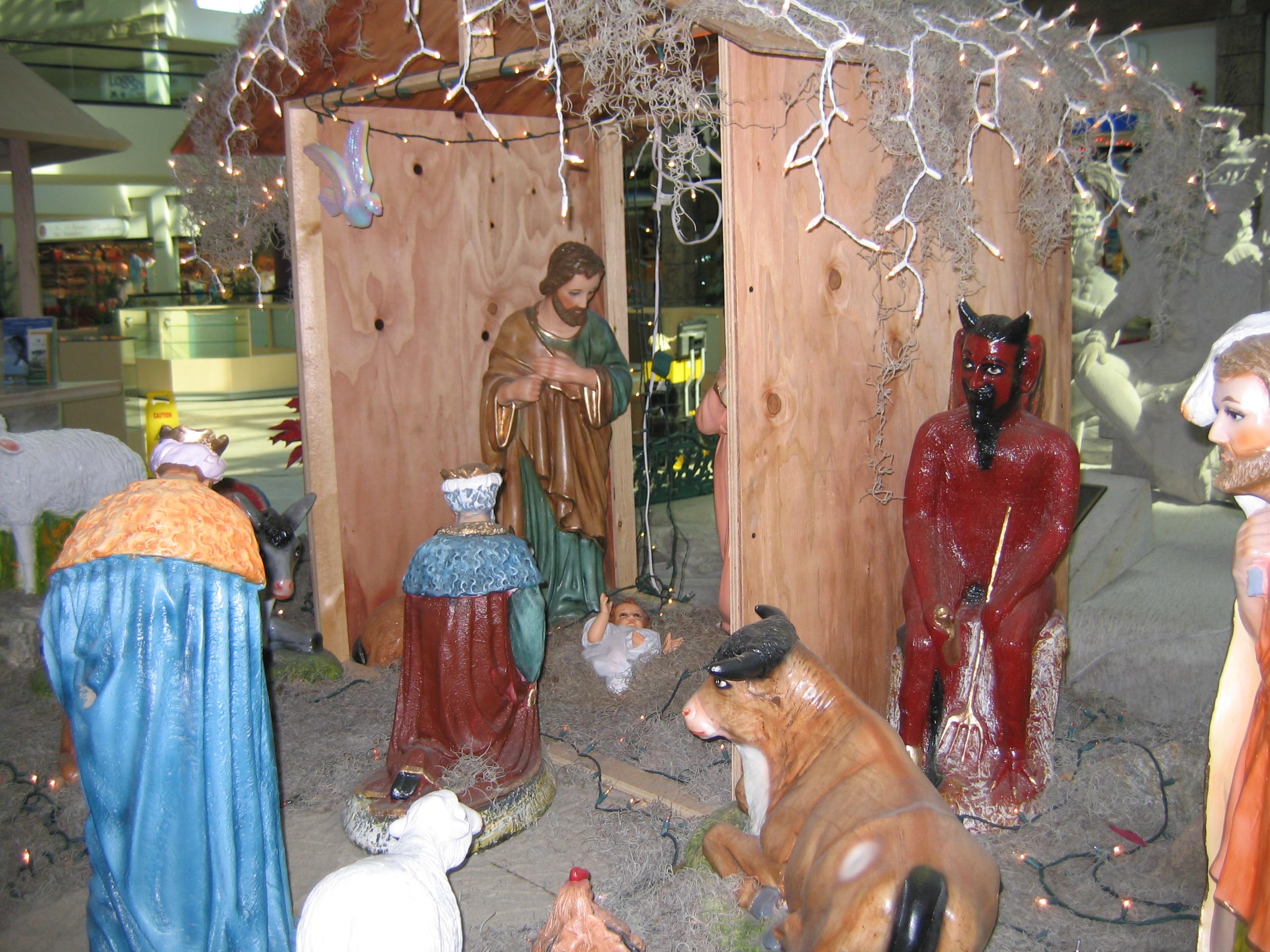 The Mexican nativity scene