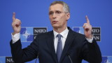 Stoltenberg explained that if Russia complied with the Open Skies treaty, the United States would not withdraw