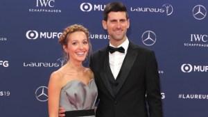 Новак Джокович, Елена Джокович и смешно видео от кухнята на тенисиста