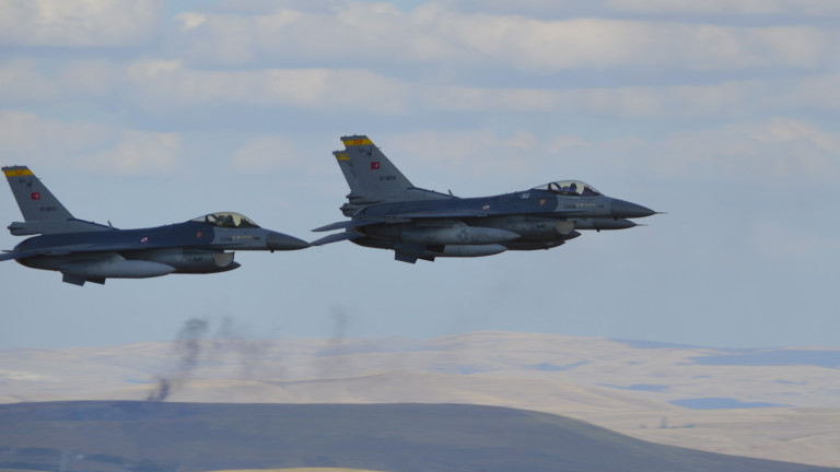 Армения заявила о новых случаях боевых действий турецких F-16