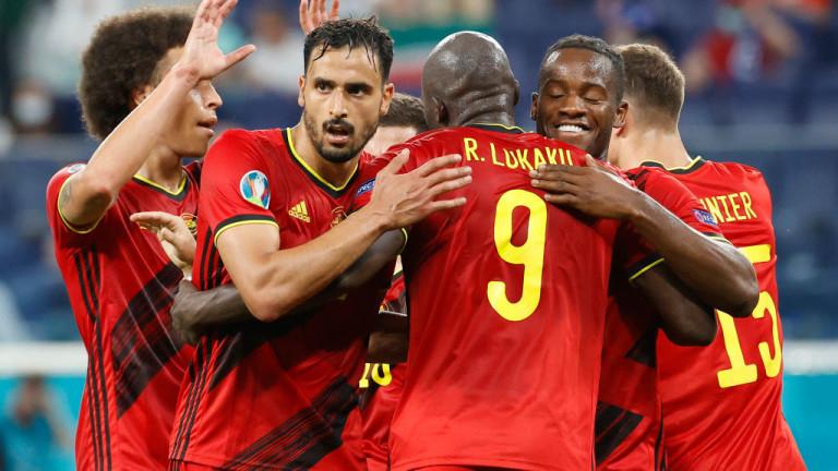 Белгия победи Финландия с 2: 0 на Евро 2020