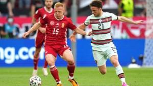 Унгария срещу Португалия, Роналдо вкара рекорден гол