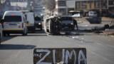 Насилието и погромите заливат Южна Африка, след като бившият президент Зума беше затворен
