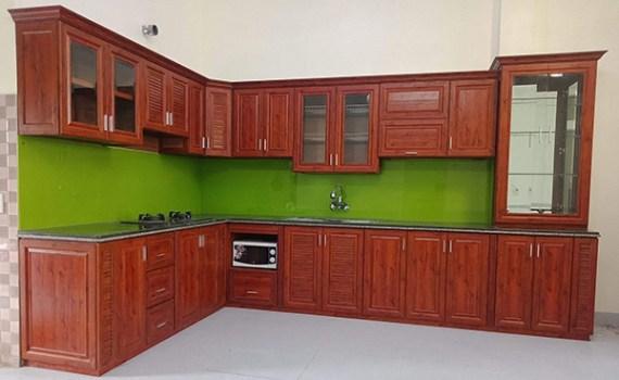 Top 10 mẫu tủ bếp nhôm kính hiện đại đẹp tại Gia Lai