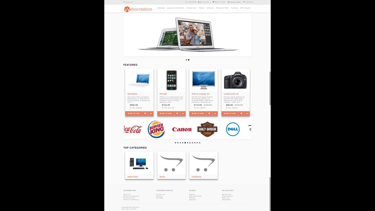Opencart 3 theme free, download and documentation, How to