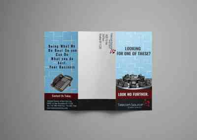 Telecom Source of NY Brochure Design