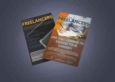Search Freelance Flyer Design