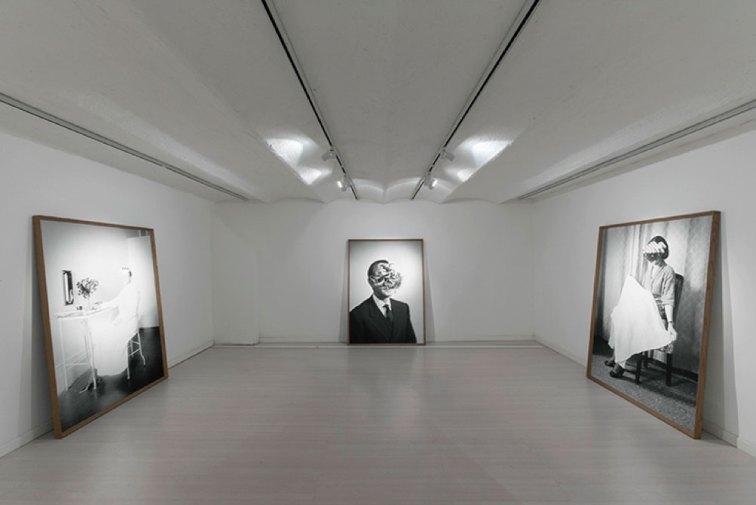 Lamberto Teotino, L'ultimo Dio, veduta della mostra presso MC2Gallery