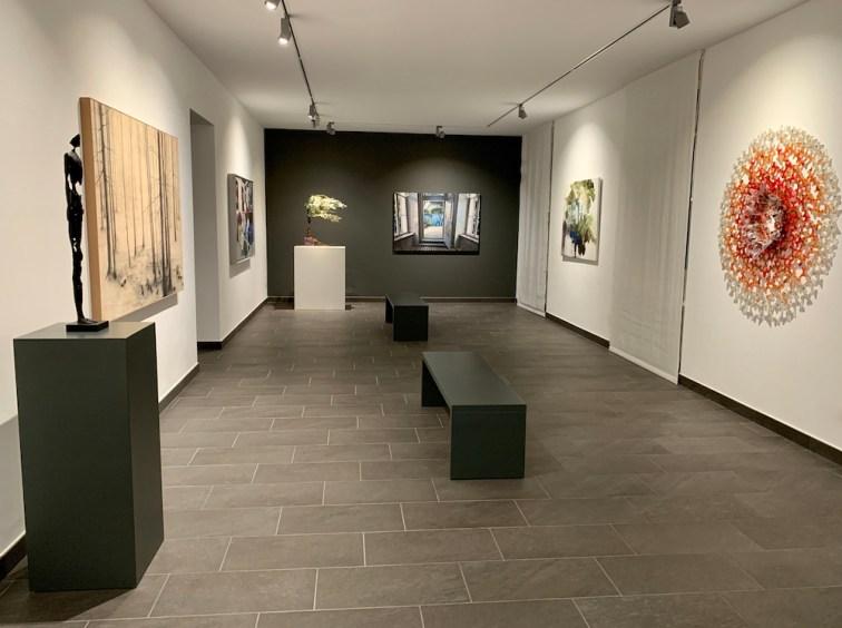 Primo piano della Galleria PUNTO SULL'ARTE, Varese
