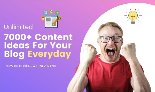 Content Ideas for blog