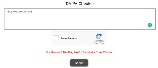Da pA checker