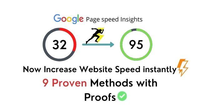 How to increase website speed in wordpress