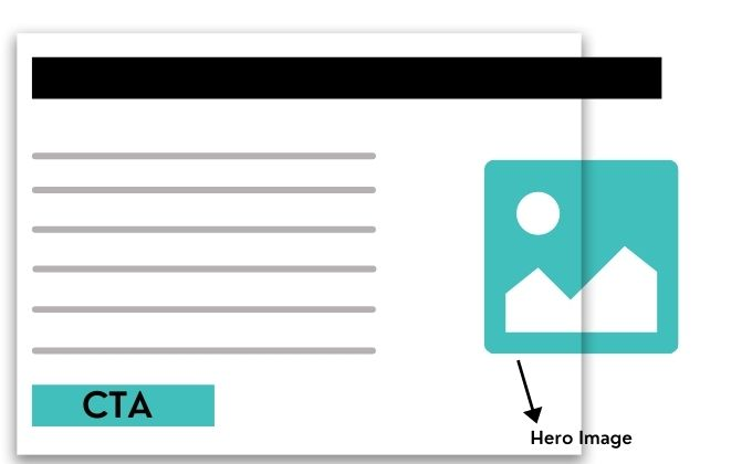 How to do Hero Image optimization in landing page