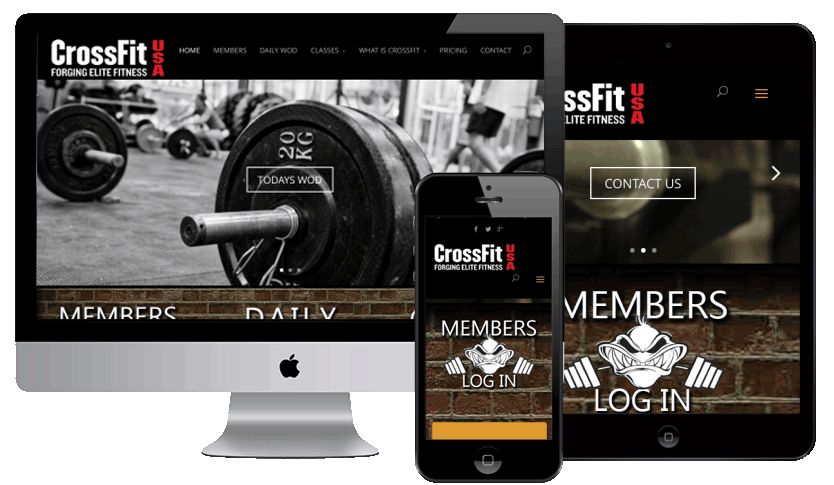 WEB5000 Crossfit Website by Webology Inc
