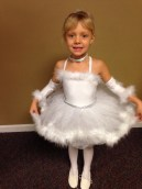 Anabel in her tutu