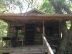 Current cabin on Jeff's island
