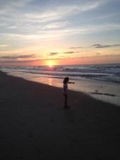 Lacie at sunrise