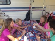 Making memories camping