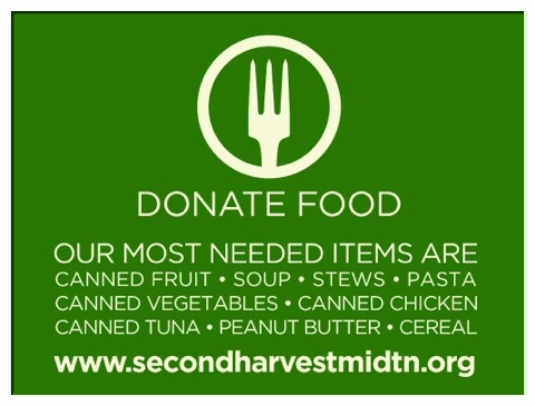 Second Harvest Food Bank Donate Now