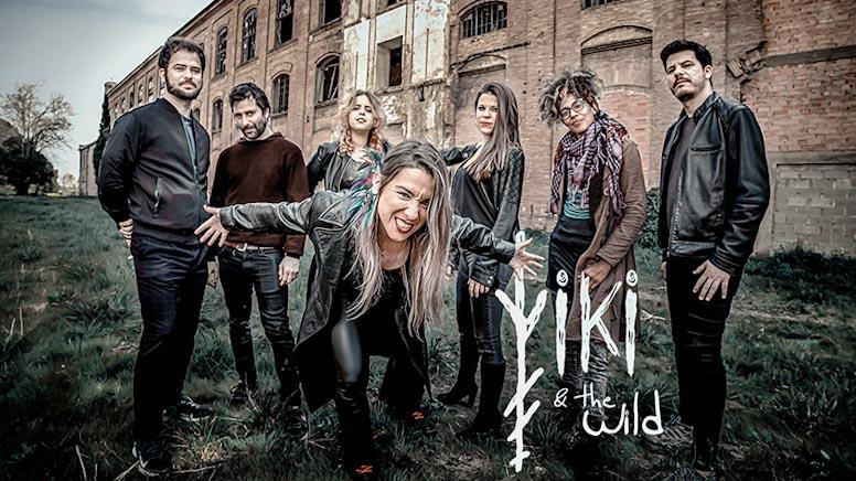 imagen de la banda al completo de Viki and The Wild