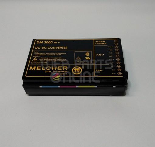 Melcher DM 3000 DC-DC Converter DM3000