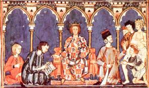 Alfonso X el Sabio es un ejemplo de rey filósofo.