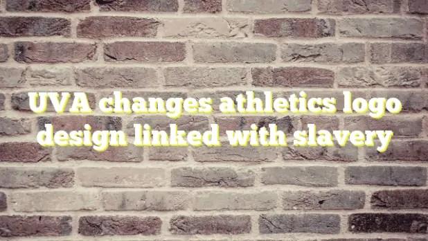 Uva-changes-athletics-logo-design-linked-with-slavery