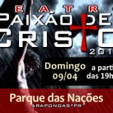 Grupo Teatral Mãe do Céu apresenta Paixão de Cristo