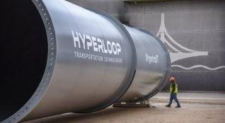 3. Hyperloop test yolu Fransa'da inşa edilmeye başlandı