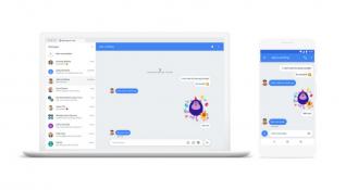 Google Android Messages'ın web sürümü yayınlandı