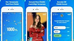 Gerçek para ödüllü, yerli ve canlı mobil bilgi yarışması: Hadi