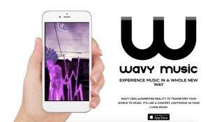 Şarkılar için artırılmış gerçeklik görselleri sunan platform: Wavy Music