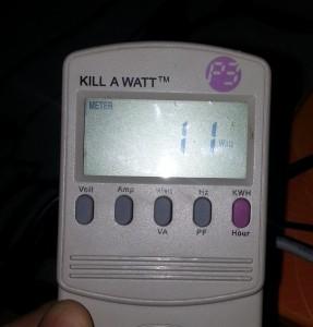 dLAN 500 AVpro Power Usage