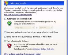 Disabling the Windows Update Framework