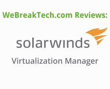 Video Review: Solarwinds Virtualization Manager