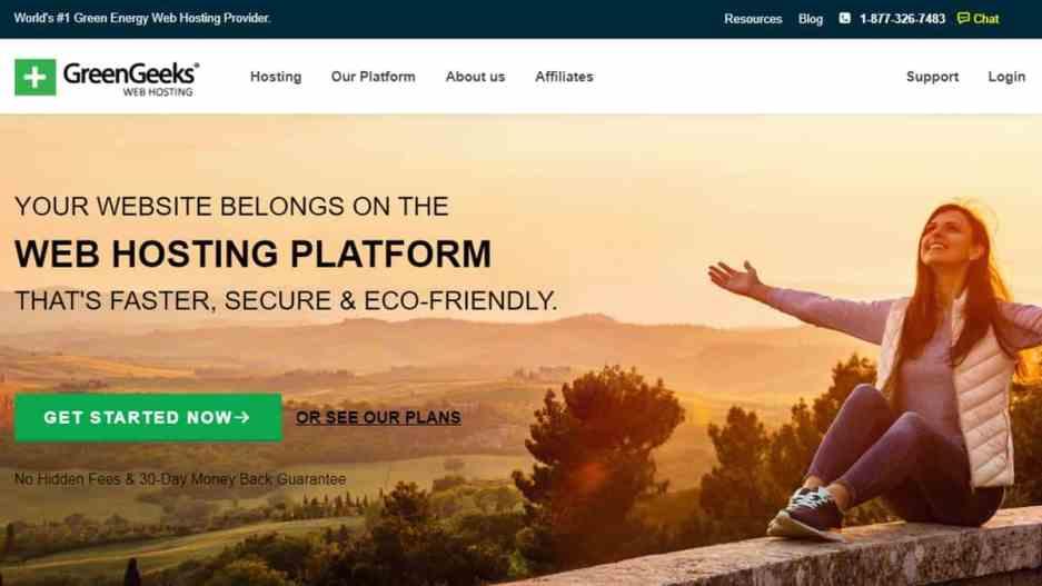 GreenGeeks (Powerful Shared Web Hosting)