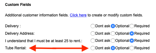 Custom Field - Assignment