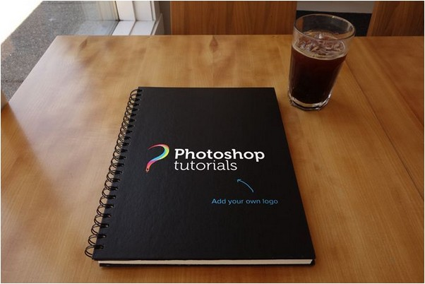 4 Sketchbook Mockup PSDs