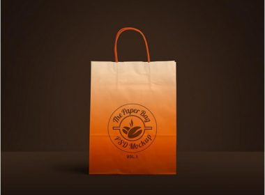 Psd mockup id 48164 in bag & sack mockups 21. 23 Free Paper Bag Mockups Psd Templates Webrfree