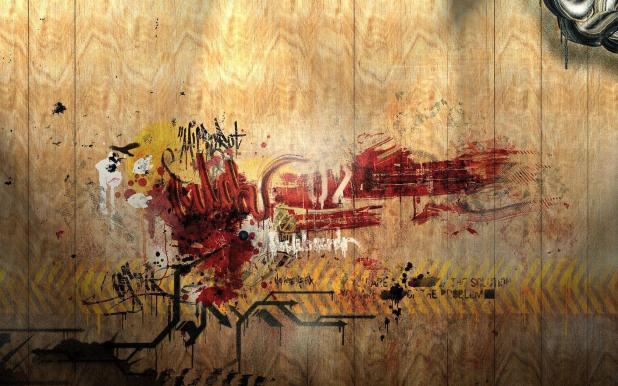 1680 × 1050 DektopGraffiti Wallpapers Abstract