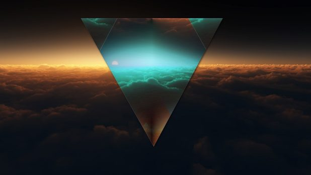 1920 × 1080 Triangle Abstract Background