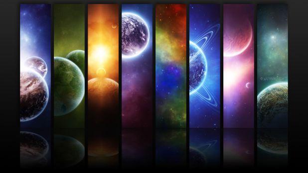 1920 × 1080 Universe Full HD 1080P Abstract Wallpaper